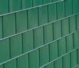 Sichtschutz zum Einflechten für Doppelstabmatten in grün